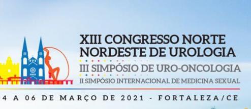 [Evento Cancelado] XIII Congresso Norte Nordeste de Urologia