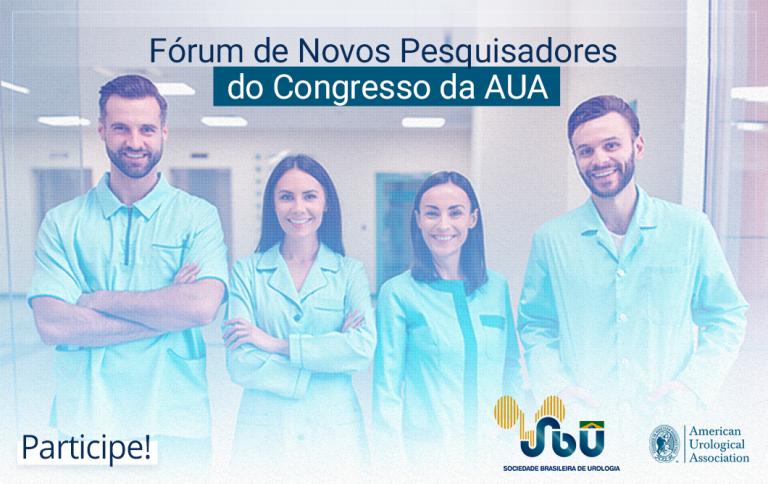 Fórum de Novos Pesquisadores do Congresso da AUA