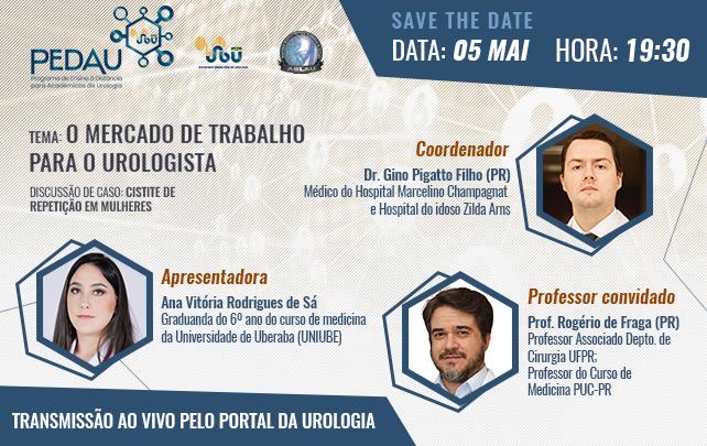 PEDAU: O mercado de trabalho para o Urologista