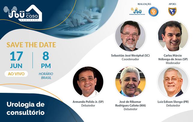 SBU em Casa: Urologia de consultório na próxima quinta-feira