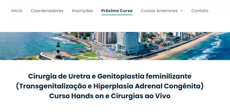 Residentes têm desconto em curso de cirurgia de uretra e genitoplastia feminilizante