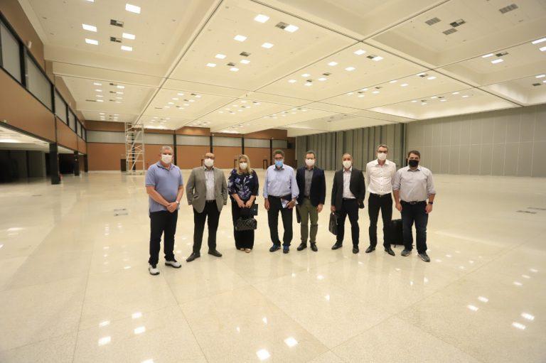 Comissão do CBU 2021 realiza visita técnica a Brasília