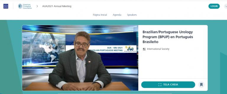 Brazilian Portuguese Urology Program foi um sucesso