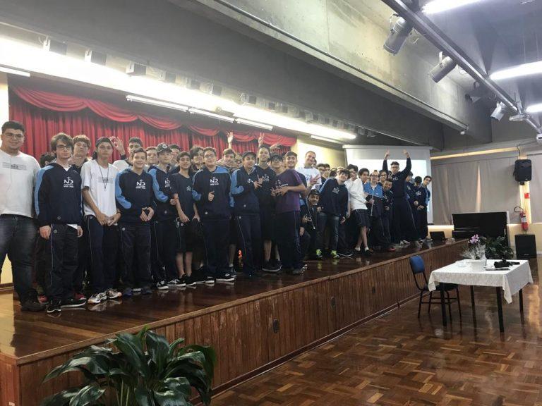 SBU faz palestra em escola em São Paulo