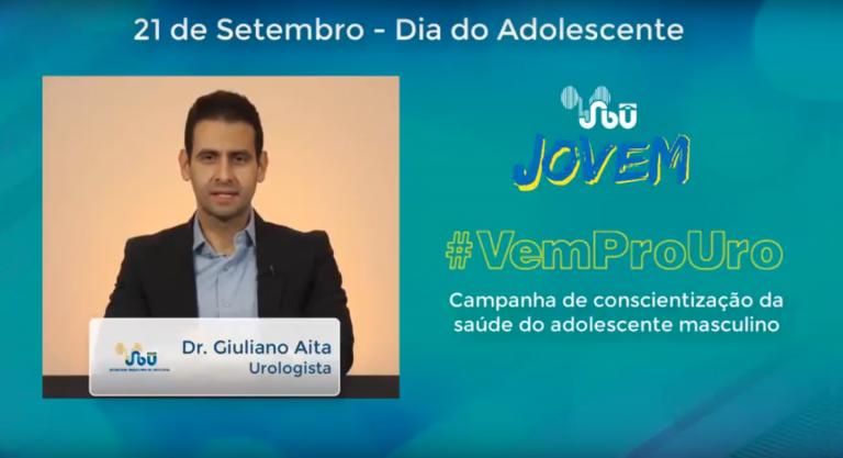Campanha #VemProUro – Dr. Giuliano Aita