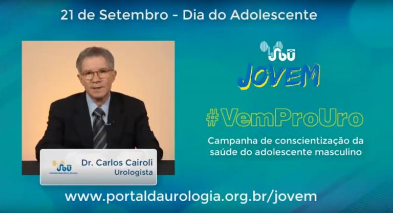 Campanha #VemProUro – Dr. Carlos E. Cairoli