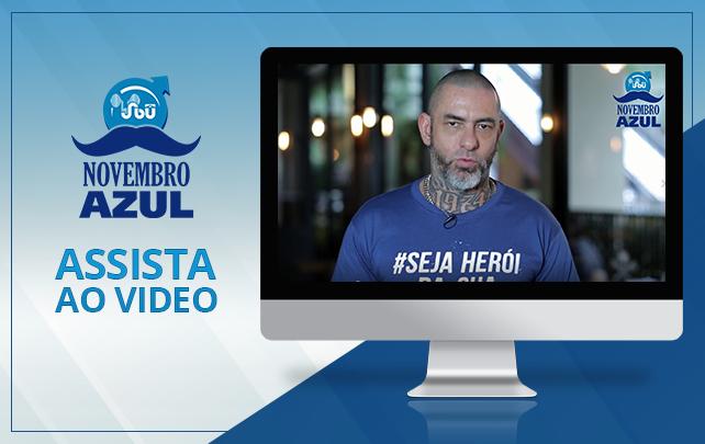 Henrique Fogaça é padrinho da Campanha Novembro Azul
