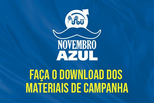 Novembro Azul 2020 – faça o download dos materiais de campanha