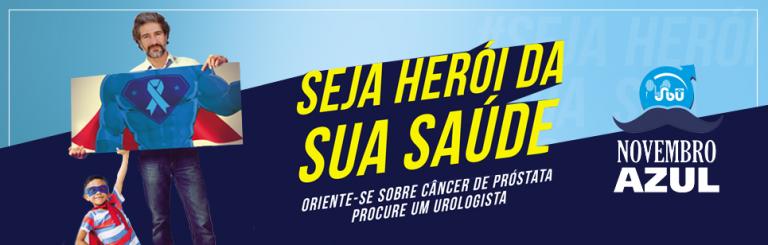 Novembro Azul alerta para diagnóstico e tratamento  do câncer durante a pandemia
