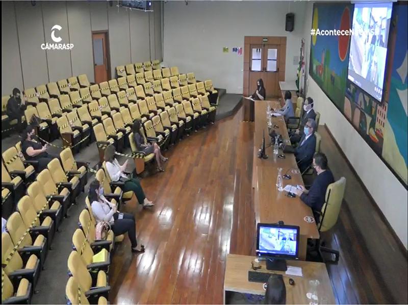 Câmara Municipal de São Paulo realiza sessão sobre campanha #VemProUro