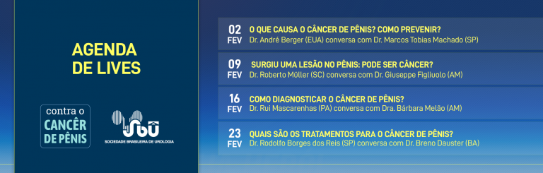 SBU realiza lives para alertar sobre câncer de pênis
