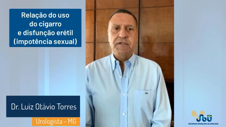 Dr. Luiz Otávio Torres: O Cigarro pode causar impotência sexual?