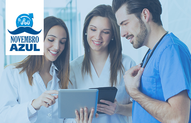 SBU disponibiliza aula base sobre câncer de próstata para o Novembro Azul