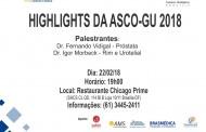 Highlights da ASCO-GU 2018