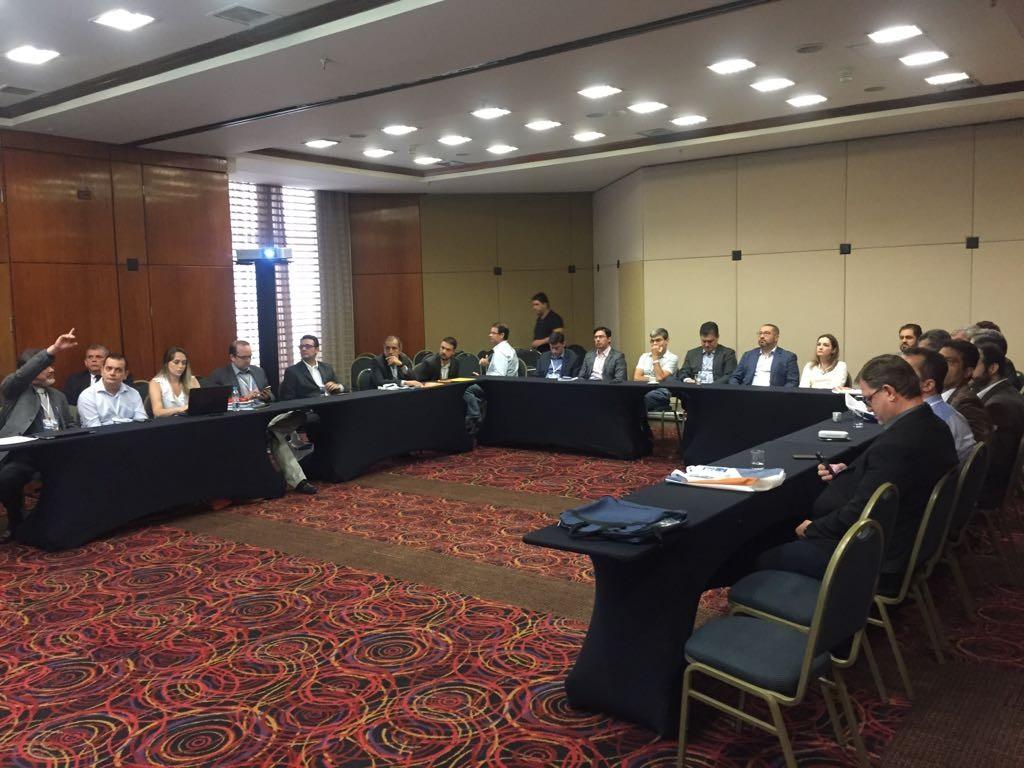 Reunião da Diretoria com os presidentes das seções estaduais