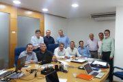 Membros da Diretoria da SBU reúnem-se na sede