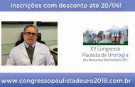 XV Congresso Paulista de Urologia – Inscrições abertas