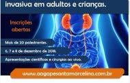 Curso de Urologia Minimamente Invasiva em adultos e crianças