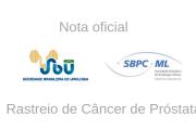 Nota oficial SBU e SBPC/ML – Rastreio de Câncer de Próstata